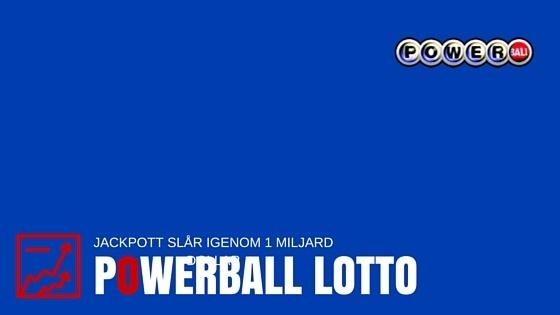 spela usa lotto powerball