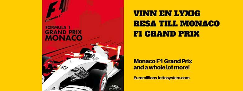Vinn en lyxig resa för två till Monaco F1 Grand Prix