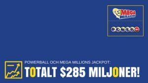 Powerball och Mega Millions jackpot