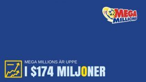 Mega Millions är uppe i $174 miljoner – blir det du som vinner?